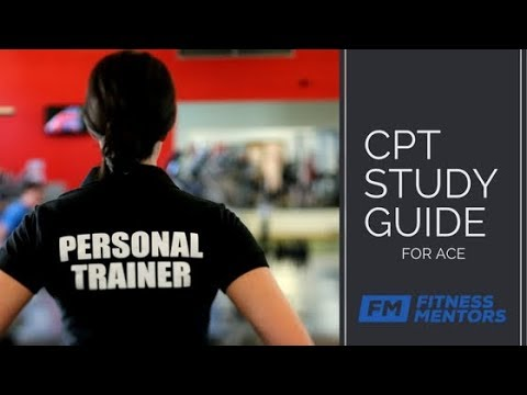 ACE Personal Trainer Study Guide: How to Pass the ACE CPT ...