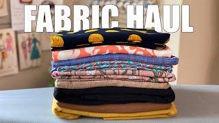 SEWING STUDIO FABRIC HAUL