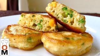 Закусочные Оладьи (Оладушки) с Зеленым Луком и Яйцом, Пышные и Мягкие, Даже Когда Остынут