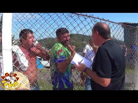 Mauro Ramos quase apanha no Campo do Barnabés da Torcida da Palmeira