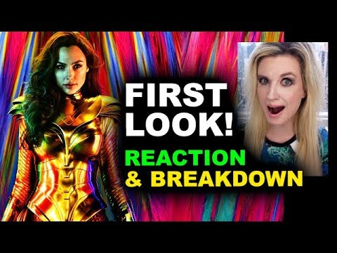 Wonder Woman 1984 Armor Poster REACTION & BREAKDOWN