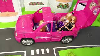 Barbie Dolls: Camper, Cruise Ship, Dreamhouse Airplane & Doll Play Toy Vehicles for Kids