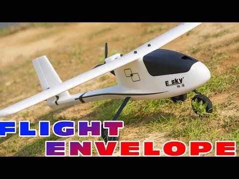 Flight envelope testing with the Esky Eagle 1100mm beginner bush-plane :)