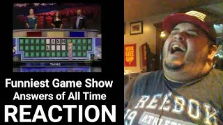 Funniest Game Show Answers of All Time ( REACTION!!! )