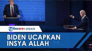 Viral di Medsos! Biden Ucap Insya Allah saat Serang Donald Trump di Debat Capres Amerika Serikat