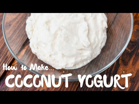 How to Make Coconut Yogurt | Raw Vegan Leban