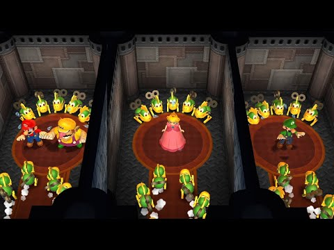 Mario Party 9 - All Survival Minigames (Master Difficulty)