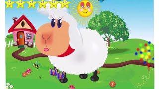 Мультик Сытая Ферма для детей. Кормим овечку и котенка