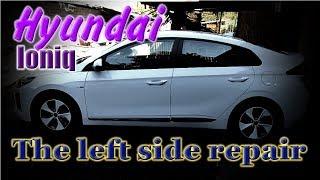 Hyundai Ioniq. Body repair. Ремонт кузова.
