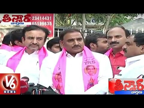 TDP-Maganti-Gopinath-and-Arekapudi-Gandhi-Officially-Joins-TRS-12-03-2016