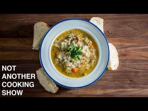 QUICK CHICKEN SOUP | HOW TO FEED YOURSELF WHEN SICK