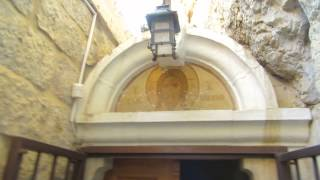 preview picture of video 'Comprehensive tour of the Monastery of the Temptation, Jericho. March 2014'