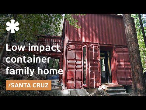 vivre dans des containers au milieu d une for t curiosit s de titam. Black Bedroom Furniture Sets. Home Design Ideas
