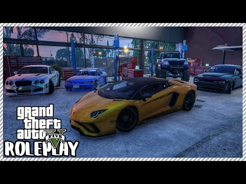 GTA 5 ROLEPLAY - Buying & Selling Cars At My Garage | Ep. 298 Live
