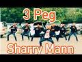 3 PEG || BHANGRA || SHARRY MAAN || PARMISH VERMA || FOLKING DESI || SGGSCC,DU ||
