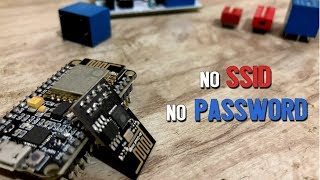 No need of writing wifi credentials in the code | ESP8266 Smart Config | ESP8266 projects