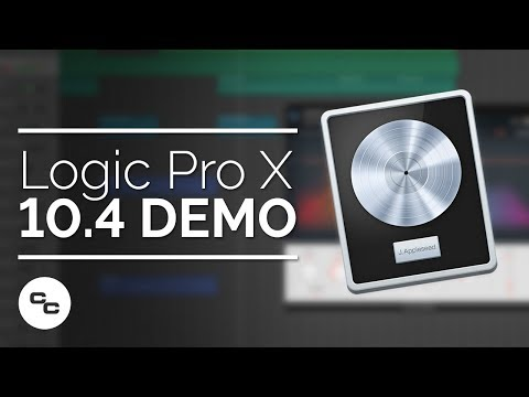 Logic Pro X 10.4 Demo – New Instruments and Features
