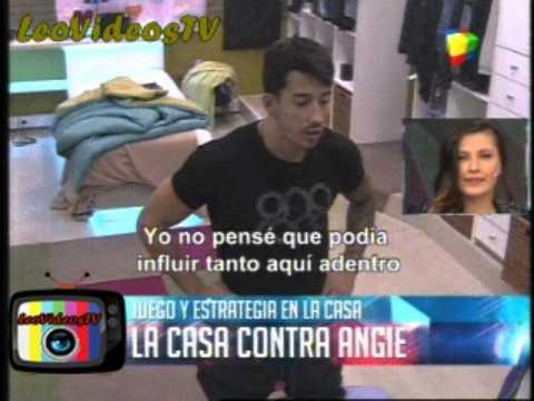 La casa contra Angie debate tras ser eliminada GH 2015 #GH2015 #GranHermano