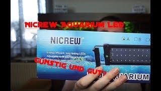 NICREW AQUARIUM LED LIGHT/ UNBOXING/ TEST