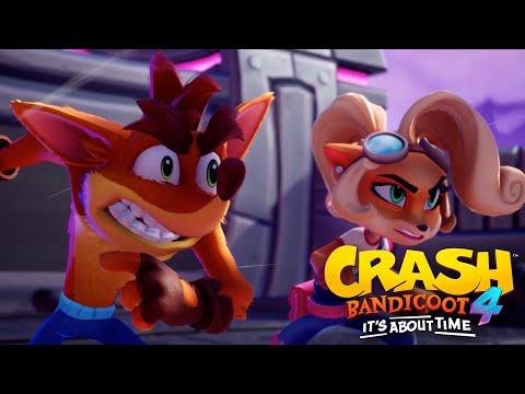 trailer de lancement pour Crash Bandicoot 4: It's About Time de Crash Bandicoot 4: It's About Time