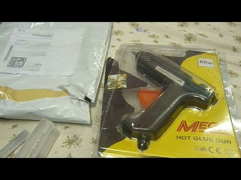 Unboxing Glue Gun And Review
