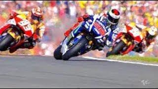 Best Skill of Jorge Lorenzo Champion MotoGP 2015