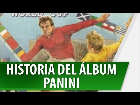 Album Panini, Conoce la Historia