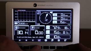 Ambient Weather WS-1000 WiFi Solar Powered Wireless Weather Station Walk-through & Review