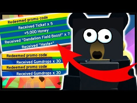 3x New Codes Free Tickets And 60x Free Gumdrops Roblox Bee