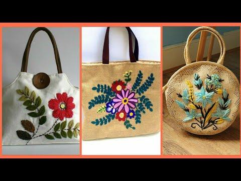 Embroidered Bags in Ahmedabad, एम्ब्रॉइडरेड