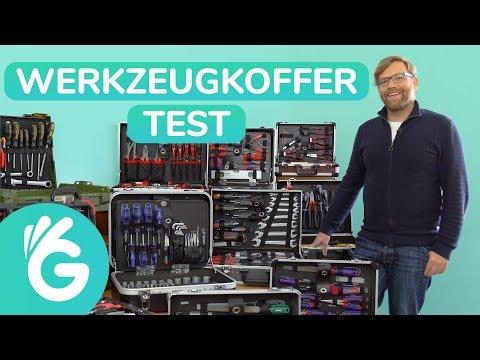 Werkzeugkoffer Test - 10 bestückte Werkzeugkoffer im Vergleich