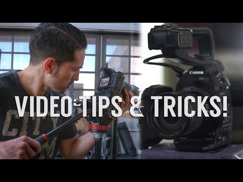 5 Simple Tips & Tricks to Shoot Better DSLR Video!