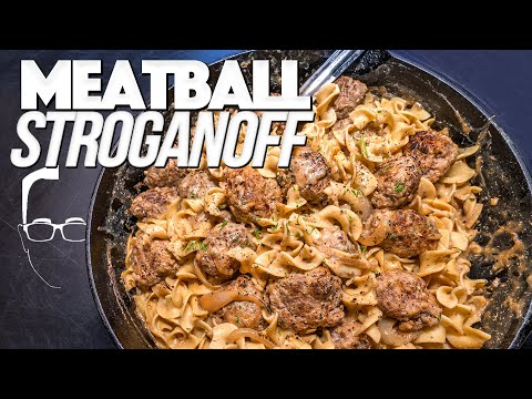 MEATBALL STROGANOFF (BETTER THAN TRADITIONAL BEEF STROGANOFF?)