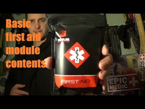 Modular Survival Systems. Basic first aid kit