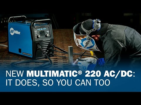 New Multimatic 220 AC/DC