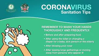 Coronavirus Sanitation Tips