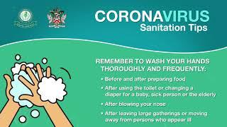 Coronavirus Sanitation Tips