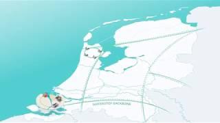 Eerste waterstofleiding Gasunie in gebruik genomen Per jaar vier kiloton waterstof van Dow Benelux naar Yara