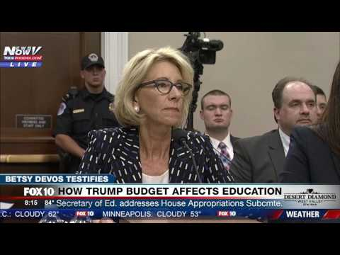 FULL: Betsy DeVos Testifies About Trump's Education Budget at Congressional Hearing (FNN)