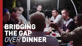 Can a Dinner Bring Divided People Together? | Freethink Crossing the Divide