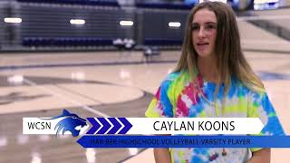 Wildcat Sports Network | Volleyball | Caylan Koons