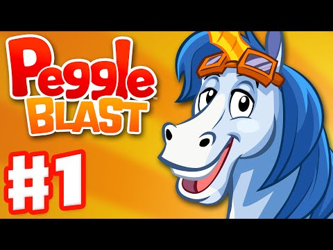 Peggle Blast - Gameplay Walkthrough Part 1 - Bjorn (iOS, Android)
