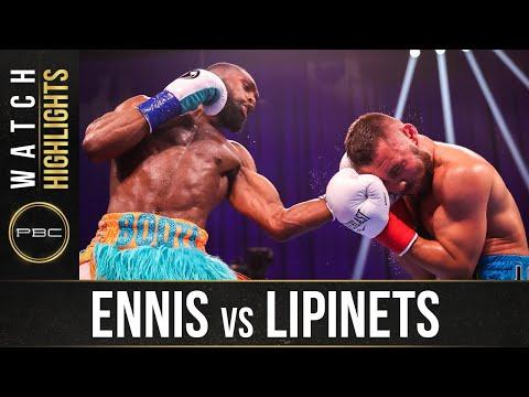 Сергей Липинец – Джерон Эннис / Sergey Lipinets vs. Jeron Ennis