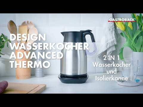 Gastroback 42426 Design Wasserkocher Advanced Thermo