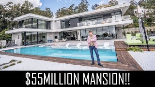 $55MILLION BEVERLY HILLS MANSION