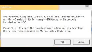 fatal error failed to load mono unity - Thủ thuật máy tính - Chia sẽ