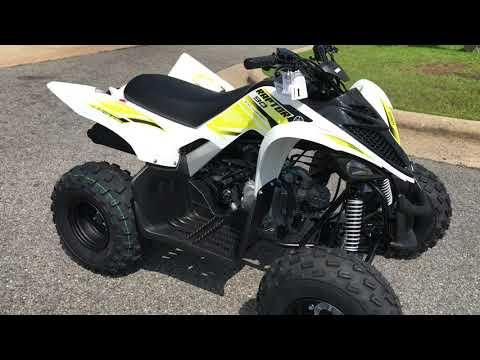2018 Yamaha Raptor 90 in Greenville, North Carolina - Video 1