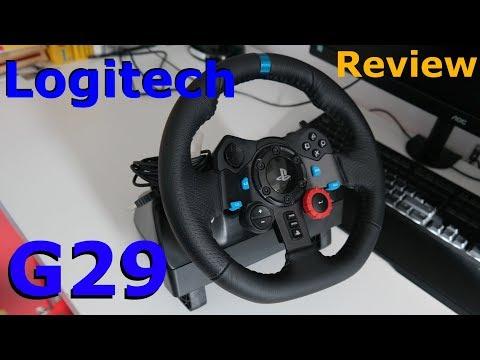 Das ultimative Lenkrad?   Logitech G29 Review   HardTech   deutsch/german