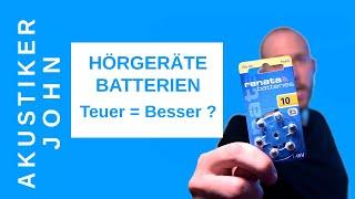 Hörgeräte Batterien - Das Musst Du Wissen!