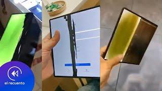 Huawei Mate X también presenta FALLAS | El Recuento